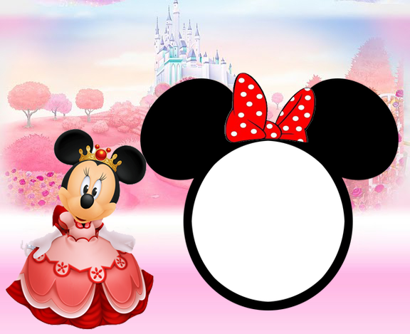 pink minnie mouse wall border