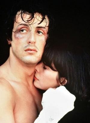 Rocky and Adrian Balboa <3