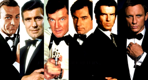 every James Bond ever