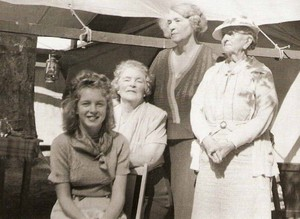 norma jeane baker and ida blonder