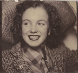 norma jeane baker-rare 사진