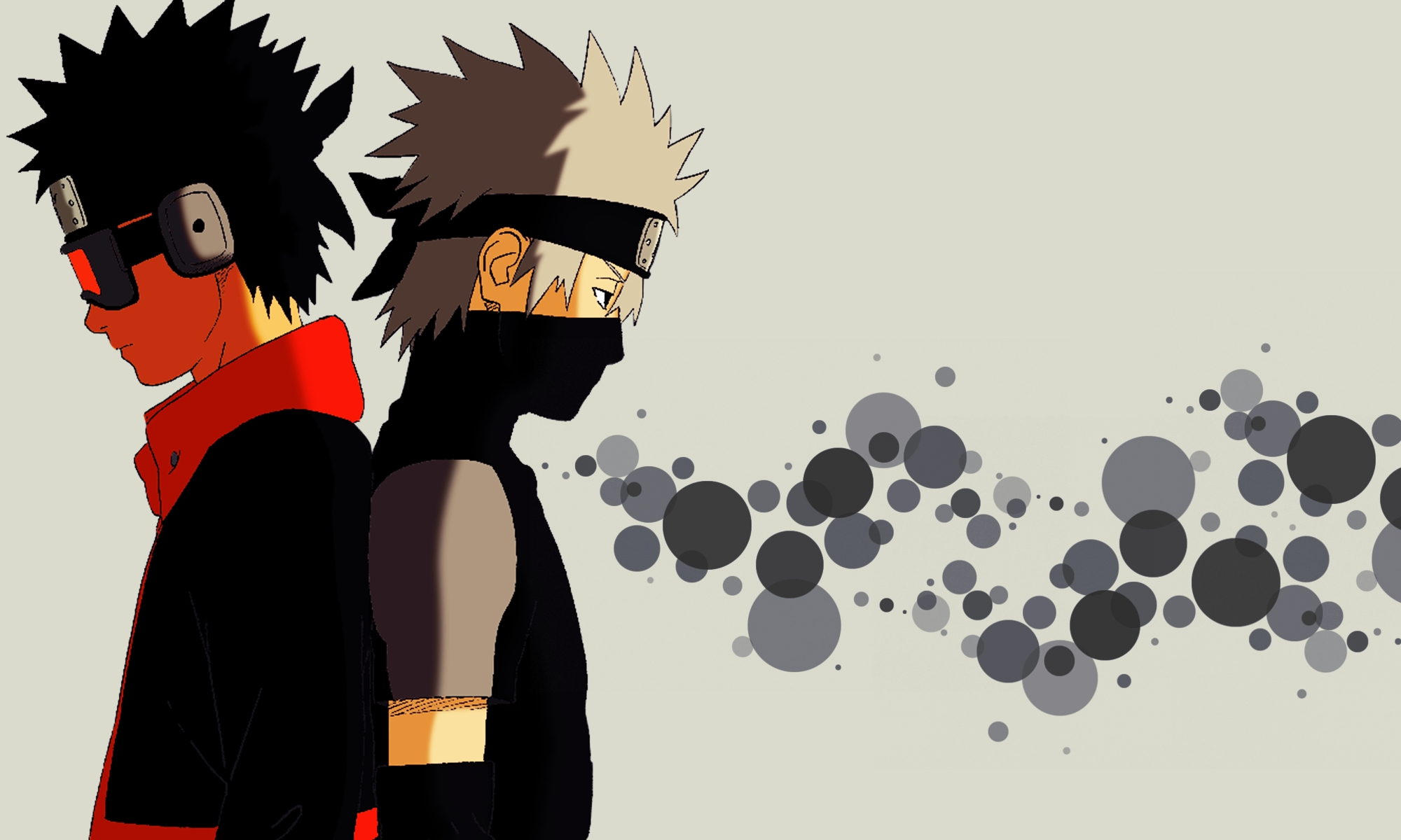 obito uchiha and kakashi hatake obito uchiha wallpaper