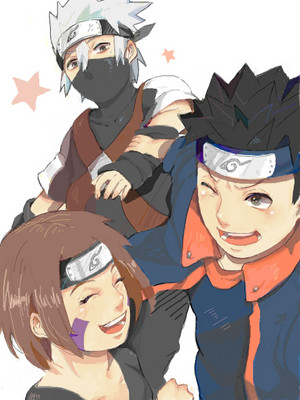 Obito Uchiha, Rin and Kakashi