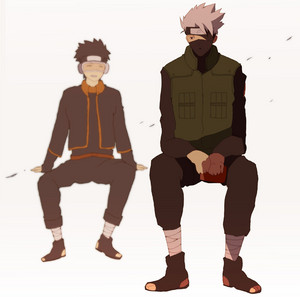 Obito Uchiha and Kakashi Hatake