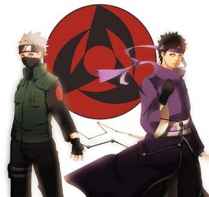 Obito Uchiha and Какаси Hatake