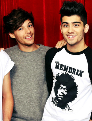 Zayn and Louis