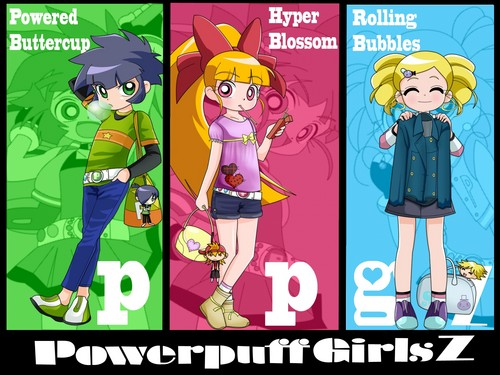 powerpuff girls Z 壁紙 with アニメ titled Powerpuff Girls Z