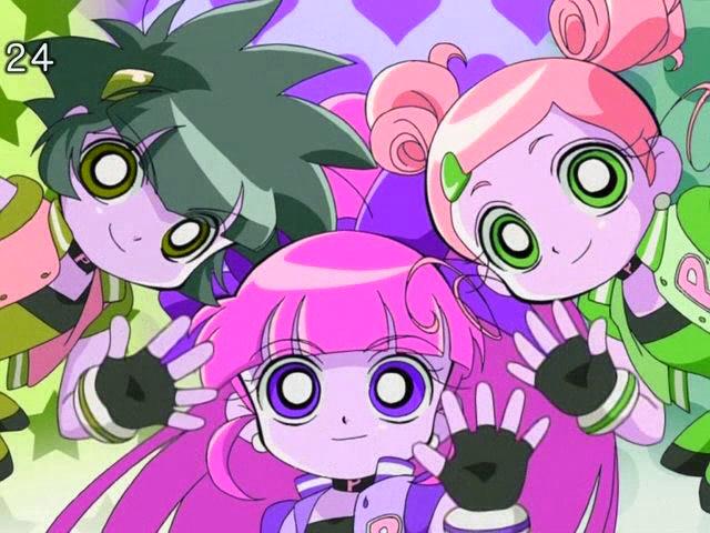 powerpuff girls x