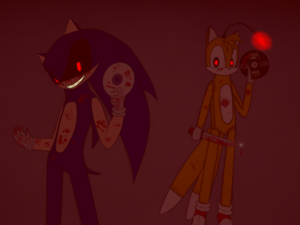 Sonic.EXE and Tails Doll