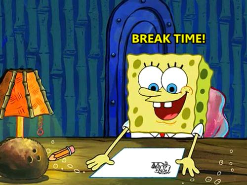 episode of spongebob where he has to write an essay