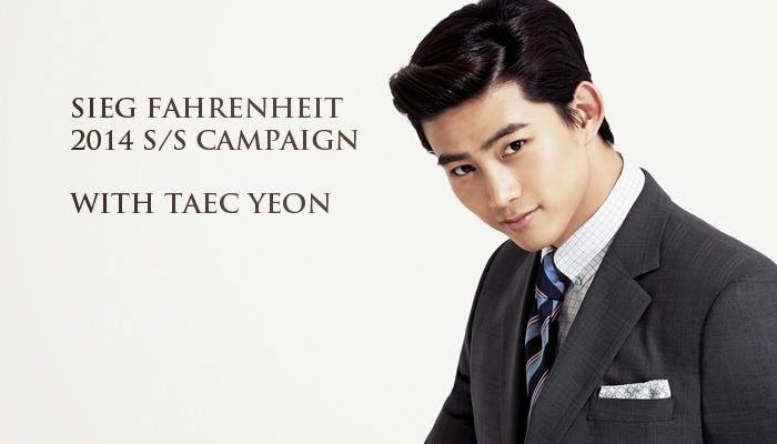 taecyeon 2pm images Taecyeon for SIEG FAHRENHEIT wallpaper photos