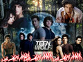 teen wolf - the-vampire-diaries fan art