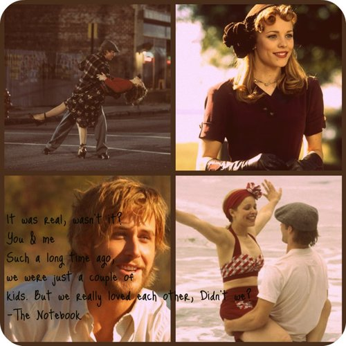 The Notebook wallpaper possibly containing a sign, a street, and a portrait entitled the notebook