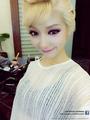 Choa as 'Queen Elsa'