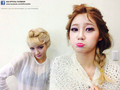 Choa and Yuna as 'Queen Elsa' and 'Princess Anna'