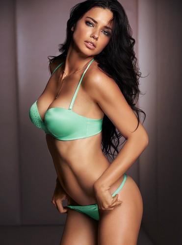 adriana lima fondo de pantalla with a bikini called Adriana Lima