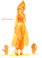 Flame Princess - adventure-time-with-finn-and-jake fan art