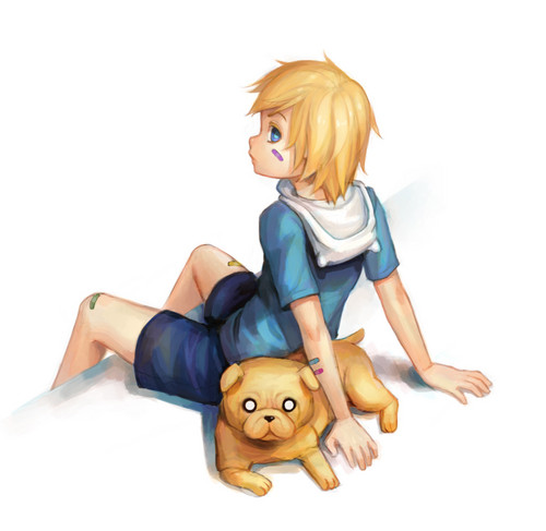 Adventure Time With Finn and Jake wallpaper called Finn and Jake
