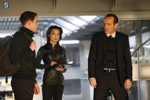 Agents of S.H.I.E.L.D. wallpaper with a well dressed person, a business suit, and a suit titled Agents of S.H.I.E.L.D - Episode 1.14 - T.A.H.I.T.I - Promo Pics