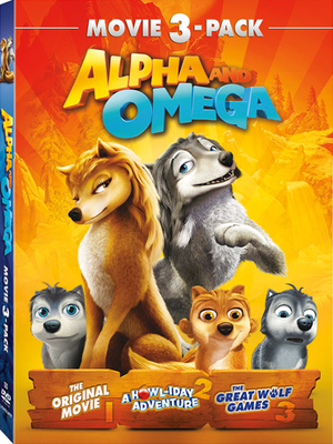 Alpha and Omega DVD 3-pack