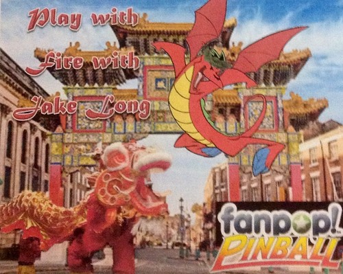 American Dragon: Jake Long wallpaper probably containing anime entitled American Dragon Jake Long Pinball Ad
