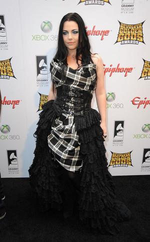 Amy Lee on Golden Gods Awards