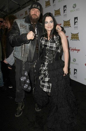 Amy Lee and Zakk Wylde on Golden Gods Awards