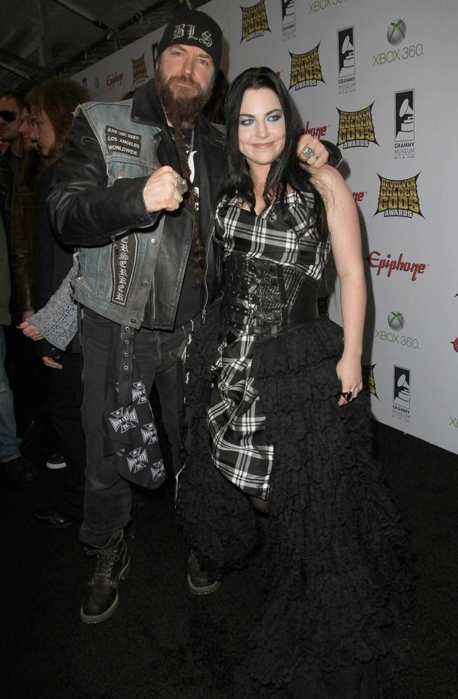 Amy Lee and Zakk Wylde on Golden Gods Awards
