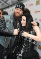 Amy Lee and Zack Wylde on Golden Gods Awards