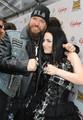 Amy Lee and Zack Wylde on Golden Gods Awards
