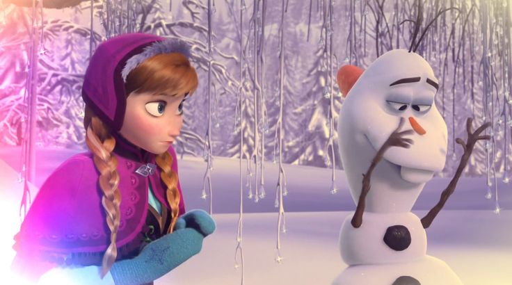 Frozen - Olaf and anna ...