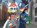 Harp Note Rockman - anime-couples photo