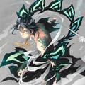 Ren Hakuryuu - anime fan art