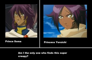 Yoruichi and Soma