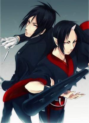Sebastian and Hoozuki