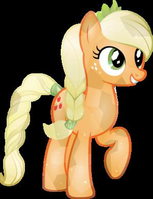 Crystal manzana, apple Jack