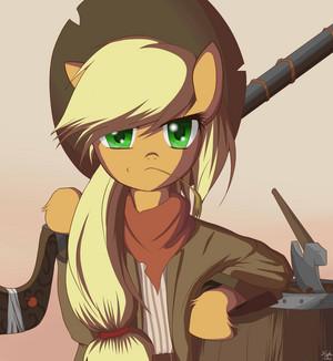 Warrior manzana, apple Jack