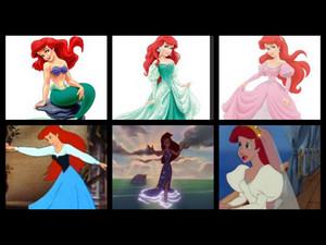 Ariel's dresses