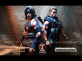 Calvin's custom one sixth scale Conan and Commando figures
