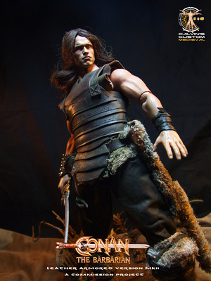 Calvin's custom one sixth scale Conan figure