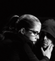 Falicity and Oliver  - arrow photo