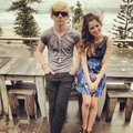 Ross Lynch and Laura Marano in Australia