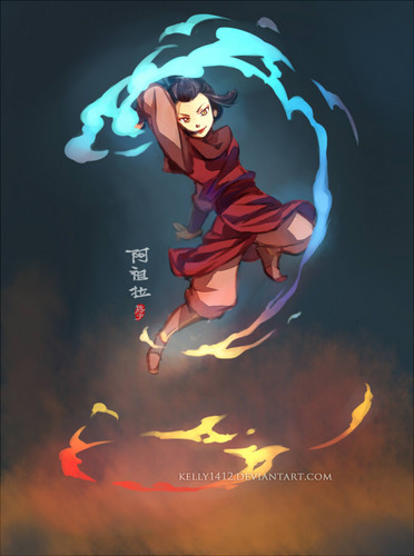 Avatar: The Last Airbender wallpaper called Azula