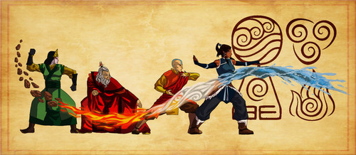 Avatar: The Last Airbender wallpaper possibly with a sign titled The Cycle of Avatars
