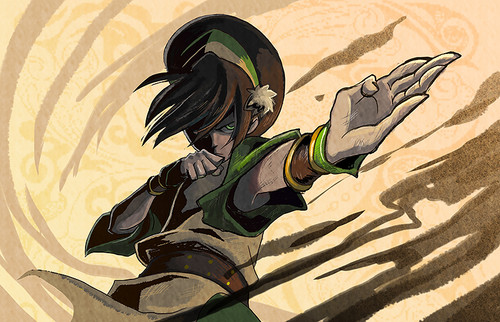 Avatar - La leggenda di Aang wallpaper entitled Toph Bei Fong