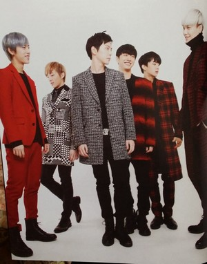 B.A.P in STARAZ Magazine vol.15