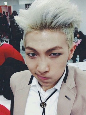 Rap Monster Selca