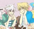 yami bakura and joe----------