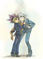 yami bakura and yugi---------