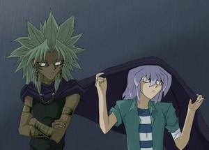 yami bakura and marik-----------